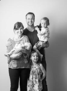 Brad, Rebecca and kids