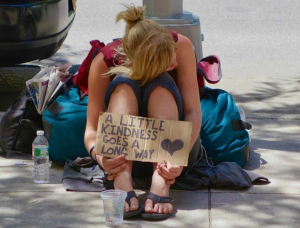 There are currently 105,237 homeless people living in Australia, 44 percent of who identify as female.